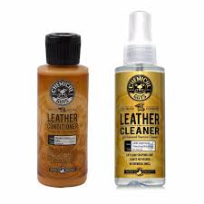 details about chemical guys spi 109 04 leather cleaner conditioner leather care kit 4 oz