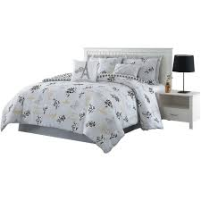 love what you do 7 piece grey yellow queen reversible comforter set ymz007850 the home depot
