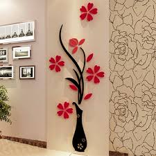 Wall Decor Stickers For Living Room Homesmirror 3d Clock Creative Wall Stickers Cndirectcom