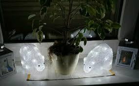 Eisbär Fensterdeko Led Deko Weihnachten Lichterkette 20cm