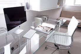 new glass office desk very elegant glass office desk all regarding modern glass desks for home office