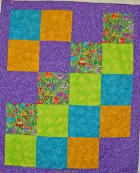 Simple Baby Quilts • Rhino Quilting & Baby quilt with jungle theme Adamdwight.com