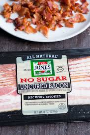 bacon that s perfect for so many whole30 recipes along with sugar free pork sausage used in my sausage leek spinach quiche and fully cooked en