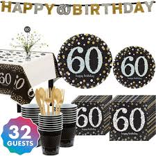 60th Birthday Party Supplies 60th Birthday Ideas Decorations