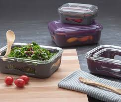 u konserve glass rectangle food containers