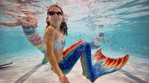 real mermaids found on mako island. Fine Real The Trend For Swimming With Elaborate Tails Just Taking Off In The UK Is Inside Real Mermaids Found On Mako Island M