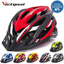 2019 <b>VICTGOAL Bike Helmet</b> LED Lights Visors For Men Women ...