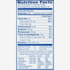 oreo food label oreo cookies nutrition facts house cookies with within food labels for cookies