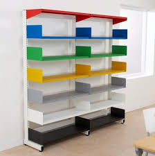 office classroom wall mounted shelving
