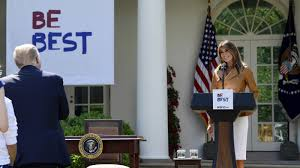 In Traditional First-<b>Lady Style</b>, Melania Trump Unveils 'Be Best'