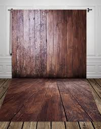 wood floor and wall background. Photography Backdrops HUAYI Vintage Brown Wood Floor Backdrop Wall  Background Art Fabric Newborn XT546-in From Consumer Electronics Wood Floor And Wall Background W