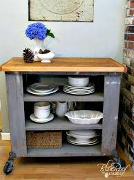kitchen island cart industrial. DIY Industrial Kitchen Island Or Cart Whatever