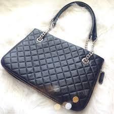 60% off Calvin Klein Handbags - Calvin Klein Black Quilted Zipper ... & Calvin Klein Black Quilted Zipper Bag Adamdwight.com