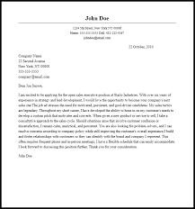 Cover Letter Samples Sales Under Fontanacountryinn Com