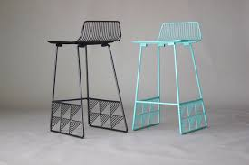 wire furniture. Bend-Furniture-Low-Back-Stool Wire Furniture -
