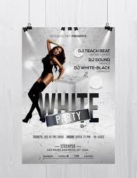 White Party Free Elegant Psd Photoshop Flyer Template