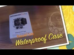 <b>Polaroid Cube</b> Waterproof Case Unboxing & Test - YouTube