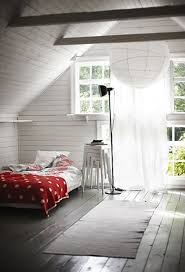 Bedroom: Awesome Attic Bedroom Decor - Living Room