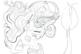 Free Mermaid Coloring Pages Free Little Mermaid Coloring Pages