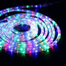 Led Color Tube Lights Brizled Led Rope Lights Outdoor 18ft 216 Led Tube Lights
