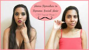 home remes to remove hair