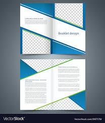 Half Fold Brochure Template Word Free Tri Psd 3 Folded