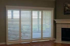 sliding glass door shutters plantation shutters n shutters shutter bypass for patio slider sliding glass doors