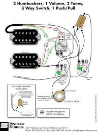 guitar & bass pickup wiring artist relations Guitar Wiring Diagram 2 Humbucker 1 Volume 1 Tone humbucker wiring diagrams click here 1 hum, 1 phatcat, 2 vol, 1 tone guitar wiring diagrams 2 pickups 1 volume 1 tone