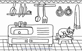Disegni Cucina Ftd8 Disegni Facili Da Colorare Per Bambini Piccoli