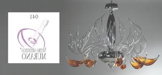 modern chandelier design lu murano handmade blown glass with regard to italian glass chandeliers