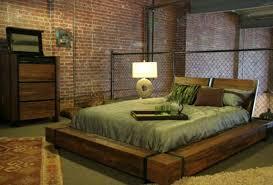rustic platform bed. Affordable Rustic Wood Platform Bed For Unique Bedroom Throughout Decorations 16