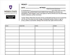Photo Release Forms