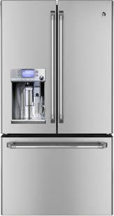ge cafe refrigerator reviews. Plain Cafe GE Cafe Series French Door Refrigerator Keurig KCups Brewing System Inside Ge Reviews 2