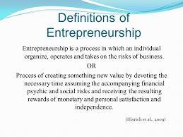 Introduction To Entrepreneurship Entrepreneurship Introduction To Entrepreneurship And Small