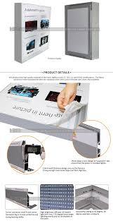 Aluminium Frame Led Light Box Aluminium Profiles For Poster Frames Aluminium Frame For Led Light Panel Led Backlit Fabric Light Box Profile Aluminum Buy Aluminium Frame For Led