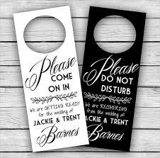 creative door hangers. Impressive Wedding Door Hanger Template With Templates Free Printable Ba Sleeping Creative Hangers