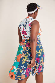 Tunic Anthropologie Halter Dinah Dress Collared