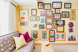 creative office wall art. Creative Office Wall Designs Home Eclectic With Sofa Gallery Art