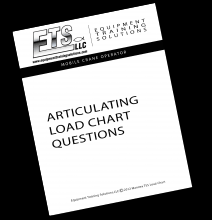 Additional Articulating Crane Load Chart Review Questions