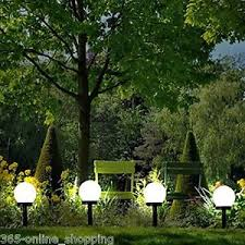 garden post. Image Is Loading Modern-Large-Solar-Powered-White-Globe-Ball-Garden- Garden Post