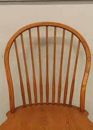 item 69 four tom seely furniture windsor style chairs 20 w all having maker s mark on bottom pickup only