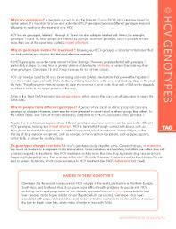 Hcv Genotypes Treatment Action Group