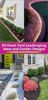 30 amazing diy front yard landscaping