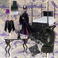 Fade Fringe Shade, From £425; Little Lacey Purple Flocked Table Lamp, £180;  Ghostie Back Side Table, £225; Sassy Boo Majestic Black Four Poster Bed, ...