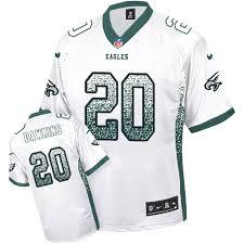 Authentic - Jerseys' Shop Brian Rush Black Jerseys Eagles T-shirts Dawkins Womens