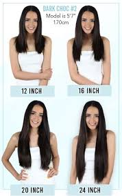 Weave Length Chart And Height Zala Weft Bundles Weave In Extensions 12 Inch 100gr