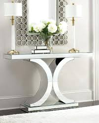 mirror and table for foyer. Foyer Console Table Mirrored Mirror And For