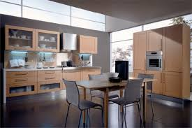 Wooden Kitchen Back To Nature With Wooden Kitchen Chairs Island Kitchen Idea