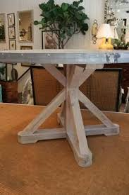 images zinc table top: round zinc top dining table mecox gardens