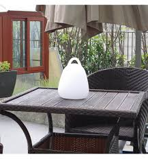 Lamp Egg 24cm Multicolor Modern Draadloos Waterproof Oplaadbaar